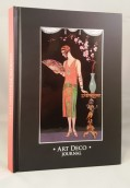 Art Deco Journal: Worth Evening Dress. Cuaderno Tapa Dura