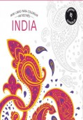 India. Mini libro para colorear